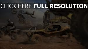 buggy moto desert vitesse