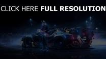 back to the future nuit voiture sportive de prestige