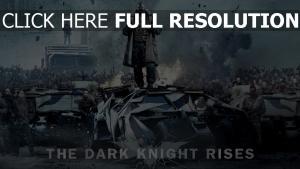 chevalier noir manteau véhicule blindé bane
