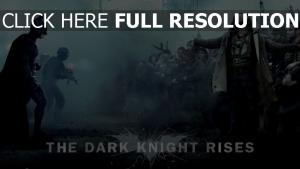 chevalier noir batman geste bane opposition