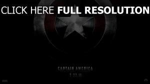 captain america affiche symbole