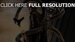 homme araignée docteur octopus bras