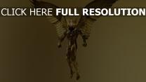les dieux d'ègypte aile or