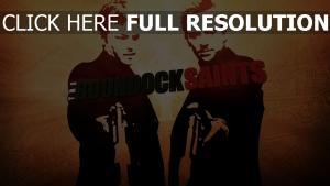boondock saints graffiti personnages principaux