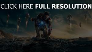 iron man armure robert downey Jr robot
