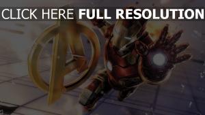 iron man geste armure