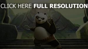 kung fu panda pose de combat