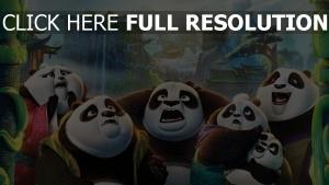 kung fu panda émotion