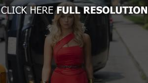 ashley benson blond katana pixels