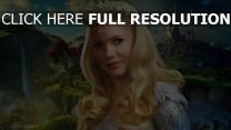 le monde fantastique d'oz couronne michelle williams blond