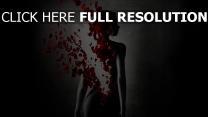 le parfum histoire d'un meurtrier silhouette pétale