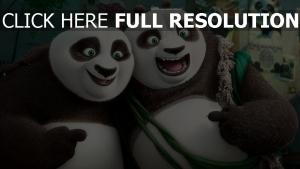 kung fu panda geste sourire