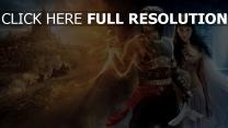 prince of persia affiche personnages principaux jake gyllenhaal