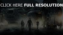 prometheus vaisseau spatial personnages principaux