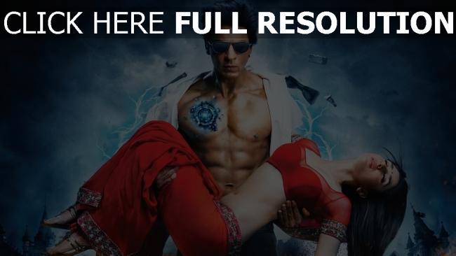 fond d'écran hd voltage cyborg shahrukh khan couple kareena kapoor