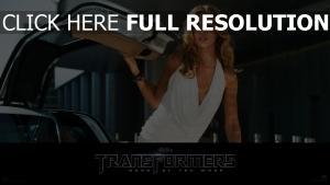 transformers rosie huntington-whiteley robe blond