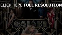 gatsby le magnifique leonardo dicaprio personnages principaux