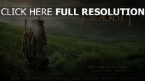 le hobbit gandalf affiche