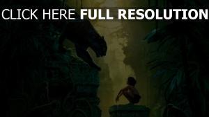 le livre de la jungle panthère mowgli