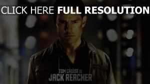 jack reacher vue de face affiche