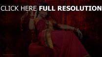 trisha krishnan robe vêtements traditionnels