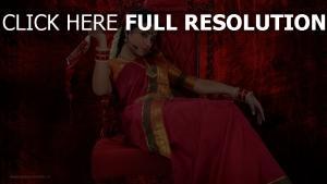 trisha krishnan robe vêtements traditionnels