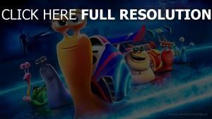 turbo personnages principaux escargot