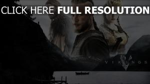 vikings travis fimmel katheryn winnick affiche