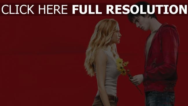 fond d'écran hd zombie malgré lui bouquet couple
