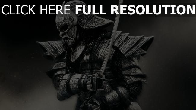 fond d'écran hd 47 ronin samuraï armure katana