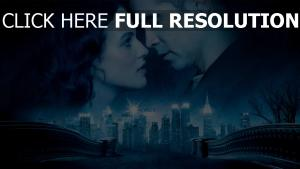 conte d'hiver pont couple visage