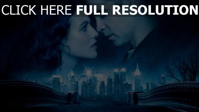 fond d'écran hd conte d'hiver pont couple visage