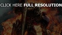 transformers épée flamme