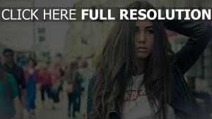 diana melison mannequin cheveux longs