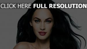 megan fox maquillage brunette
