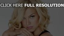 adrianne palicki blond visage actrice