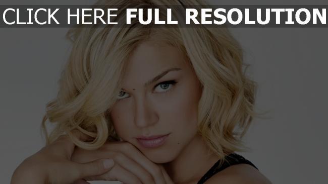 fond d'écran hd adrianne palicki blond visage actrice