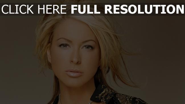 fond d'écran hd anastacia lyn newkirk blond chanteuse