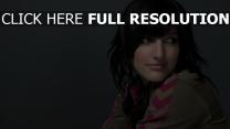 ashlee simpson actrice brunette regard