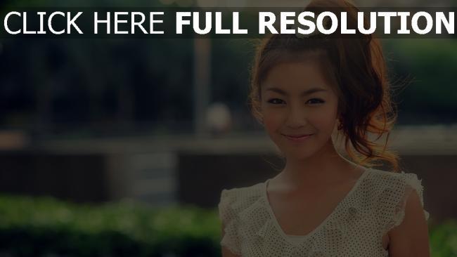fond d'écran hd naturel sourire coiffure belle