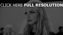 noir et blanc blond mascara
