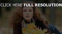 bouclé cheveux tendre automne