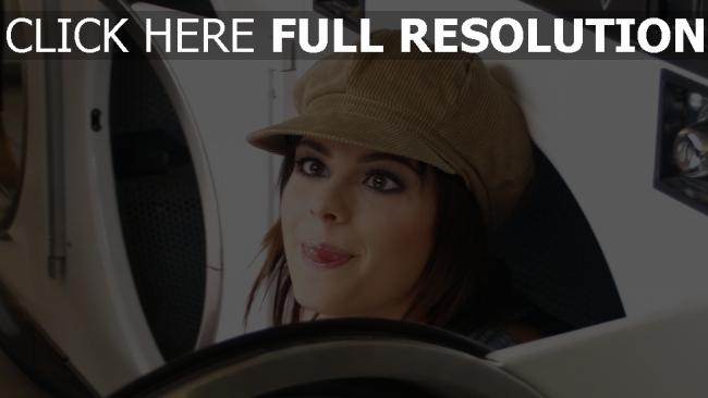 fond d'écran hd cheveux bruns chapeau amusant