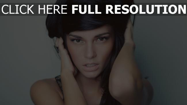 fond d'écran hd casey carlson brunette sensuel naturel