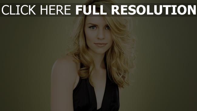 fond d'écran hd claire danes bouclé cheveux blond actrice