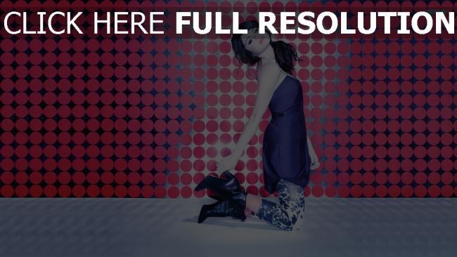 fond d'écran hd elena gomez chanteuse robe style urbain