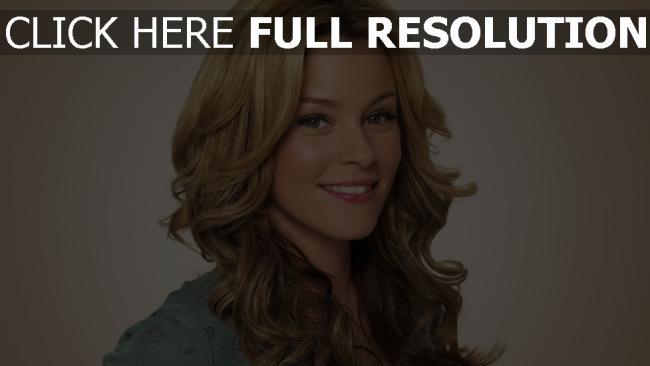 fond d'écran hd elizabeth banks blond sourire actrice