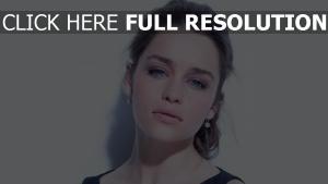 emilia clarke naturel visage actrice