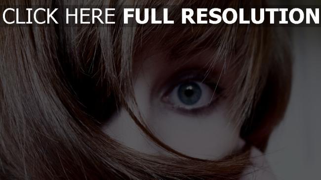 fond d'écran hd yeux bleus cheveux courts,