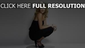 fearne cotton actrice blond bouclé cheveux